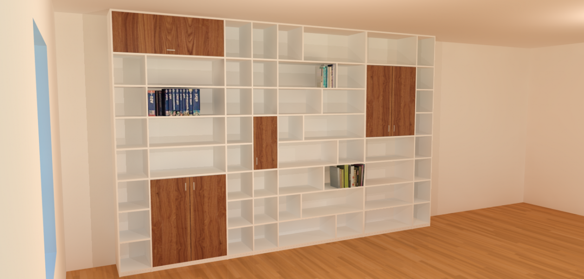 verder kunt u laden lage of zelfs kamerhoge deuren en glazen deuren verwerken in uw kast uiteraard kunt u bijpassende meubelen zoals werkbladen en