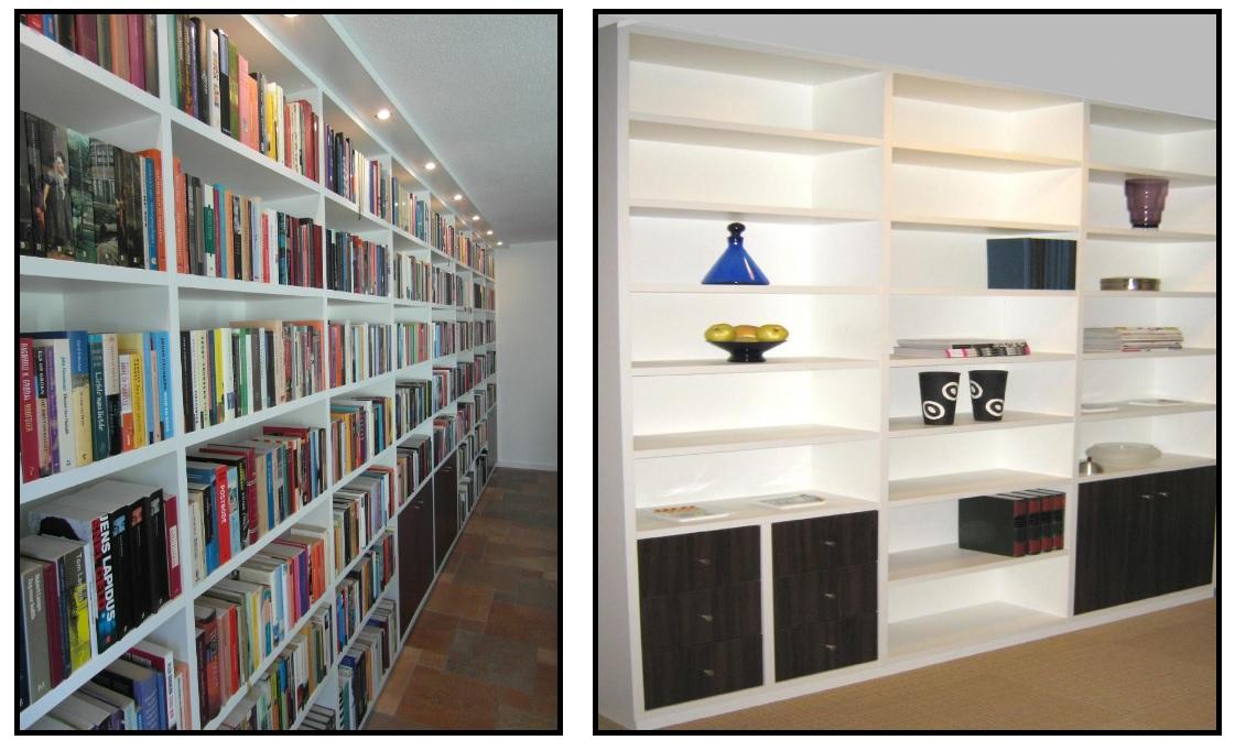 boekenkasten op maat gemaakt
