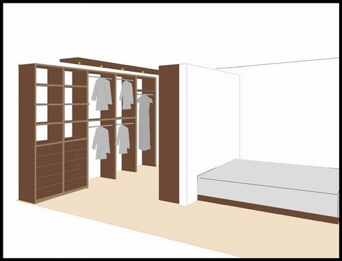 excellent indeling naar wens with kledingkast kleine slaapkamer