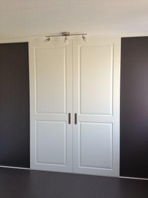 Schuifdeur voor inloopkast